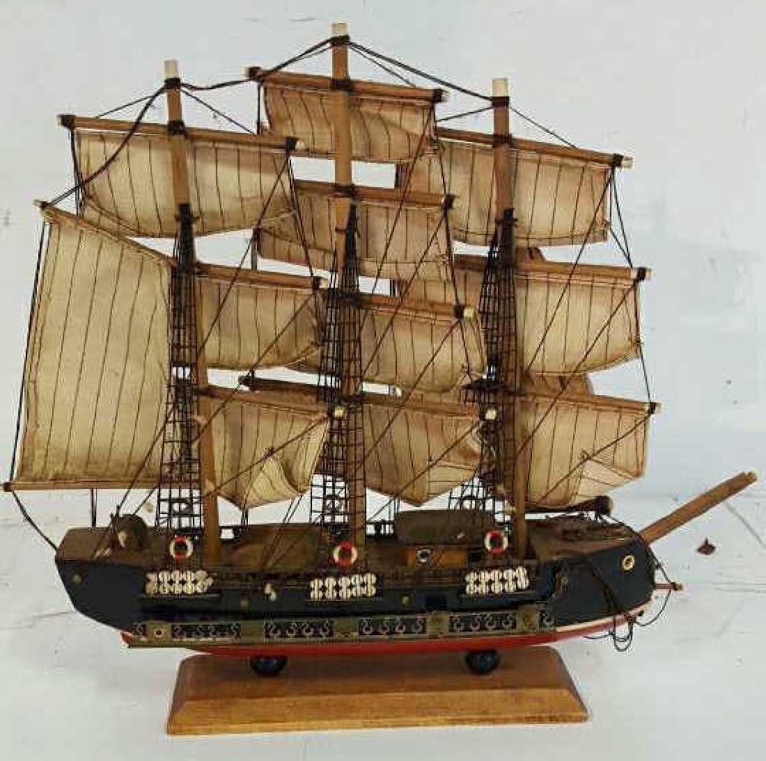 Bergantin Siglo XVIII Model Boat Bergantin Siglo XVIII - 7