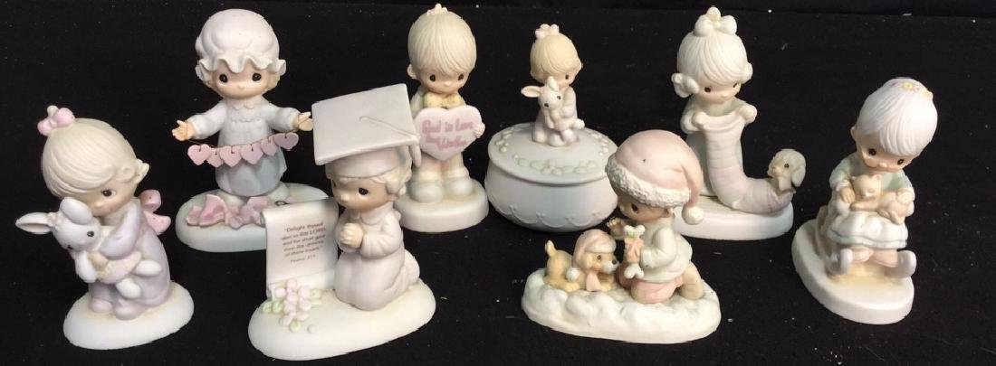 Group Lot Vintage Jonathan And David Figurines 8 pieces