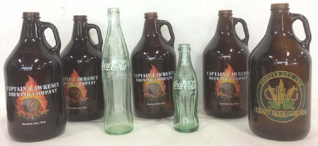 7 Old and New Collectible Glass Bottles 5 Craft Beer