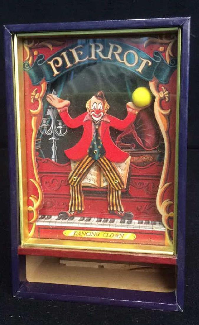 Group of 4 Clown Theme Music Boxes Animated and - 5