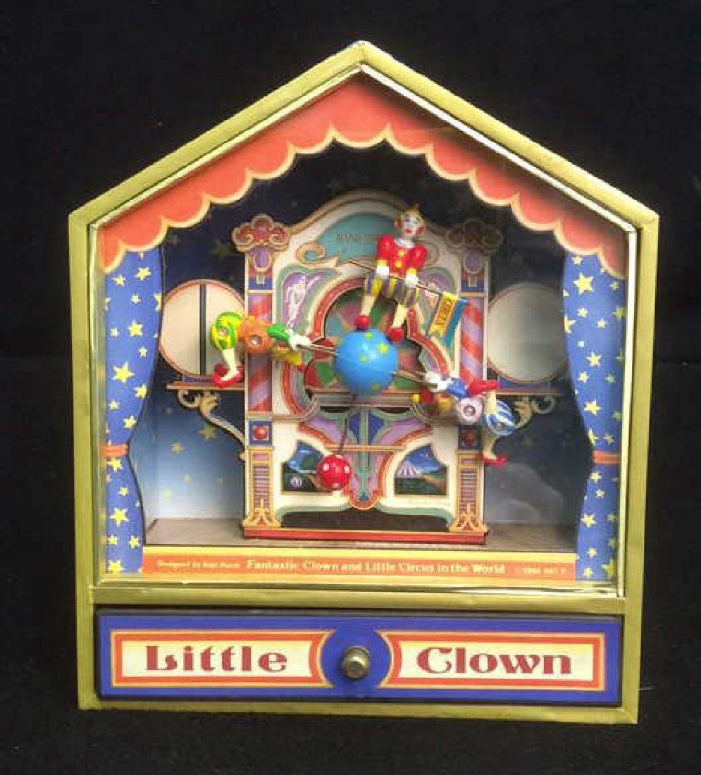 Group of 4 Clown Theme Music Boxes Animated and - 7