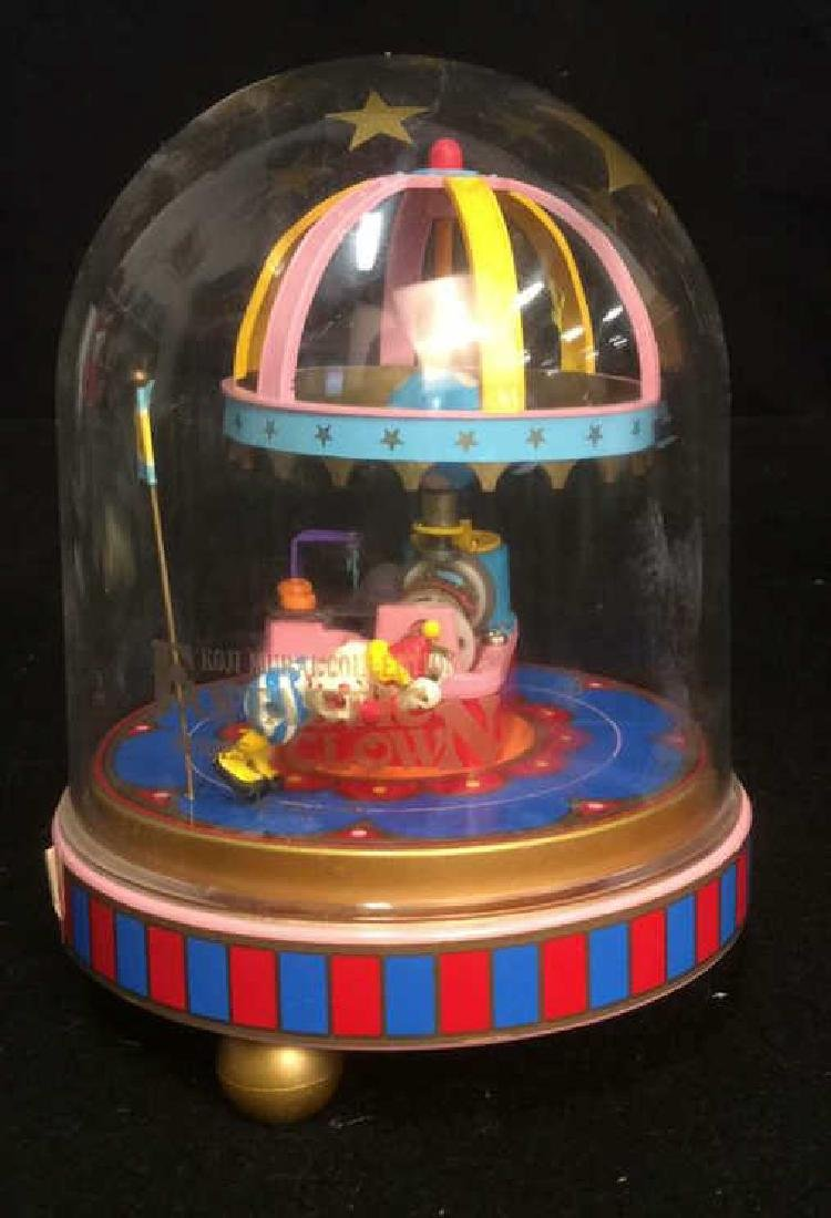 Group of 4 Clown Theme Music Boxes Animated and - 9