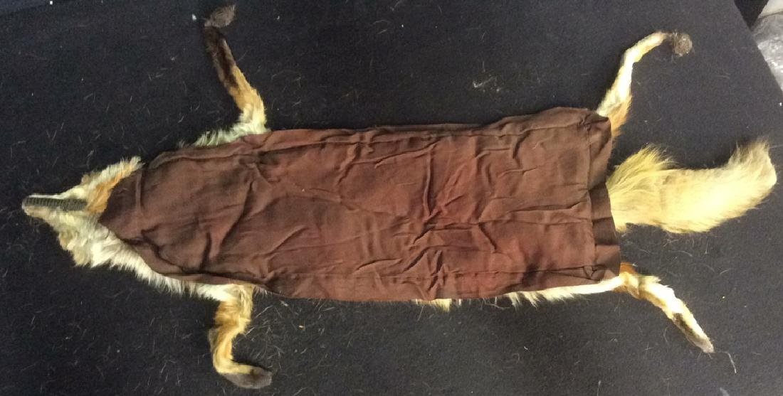 2 Antique Genuine Fur Pelt Wraps Group of 2, likely - 5