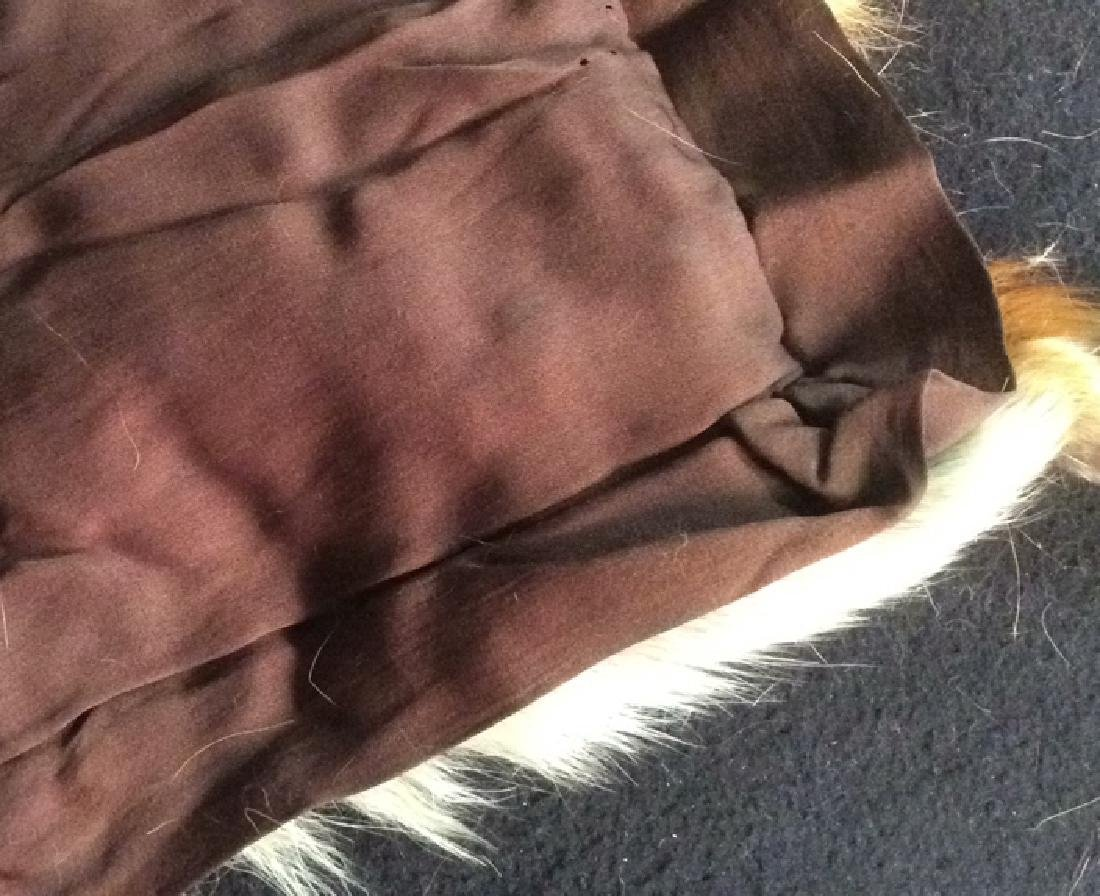 2 Antique Genuine Fur Pelt Wraps Group of 2, likely - 6