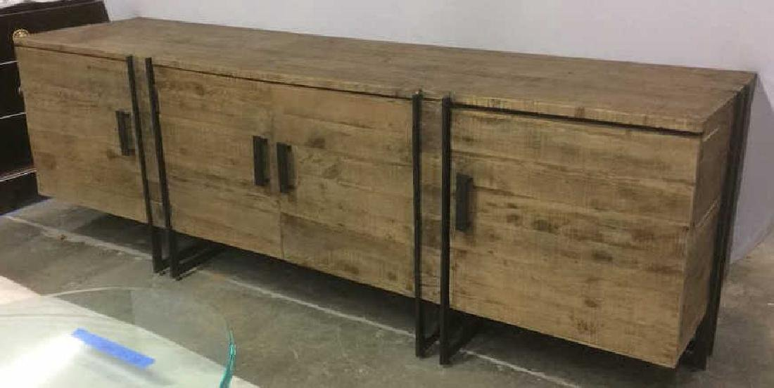 COUNTRY WILLOW New Rustic Style Credenza Well made,