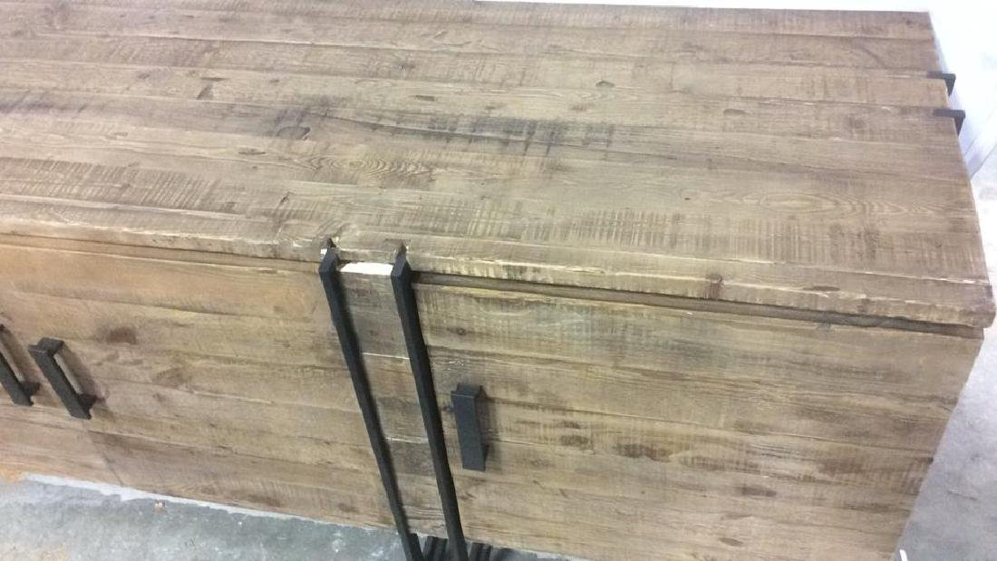 COUNTRY WILLOW New Rustic Style Credenza Well made, - 2