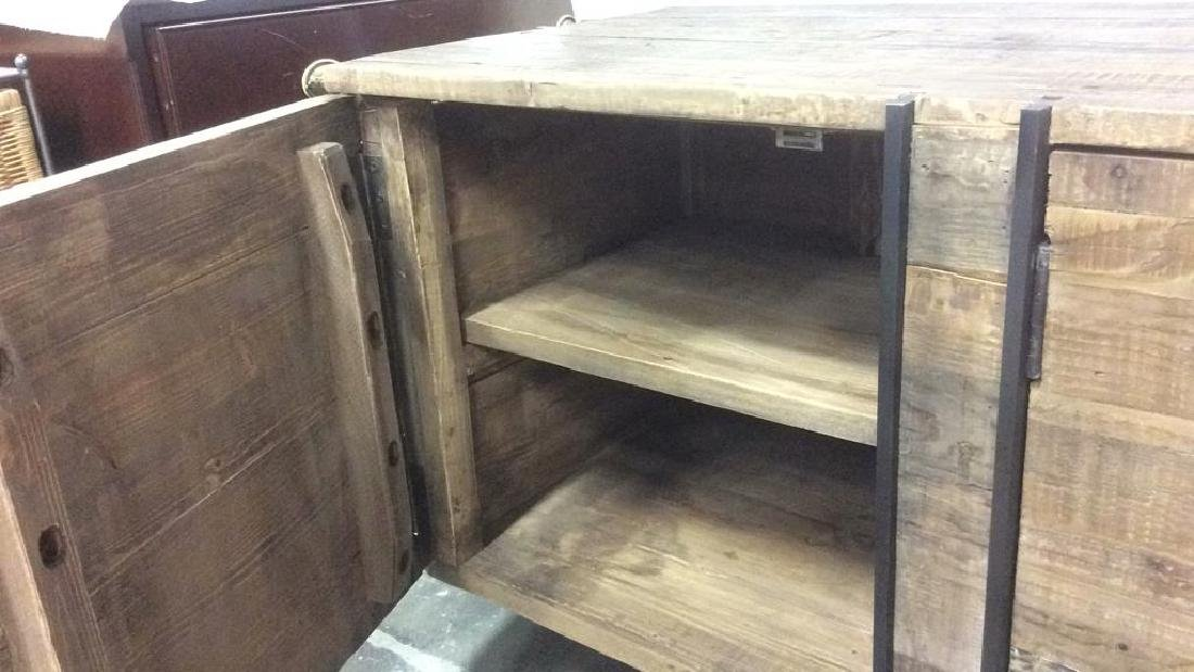 COUNTRY WILLOW New Rustic Style Credenza Well made, - 5