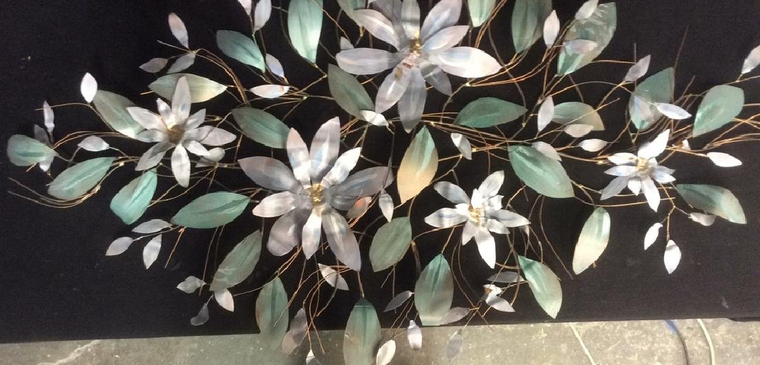 Copper and Iron Blooming Tree Branch Wall Decor
