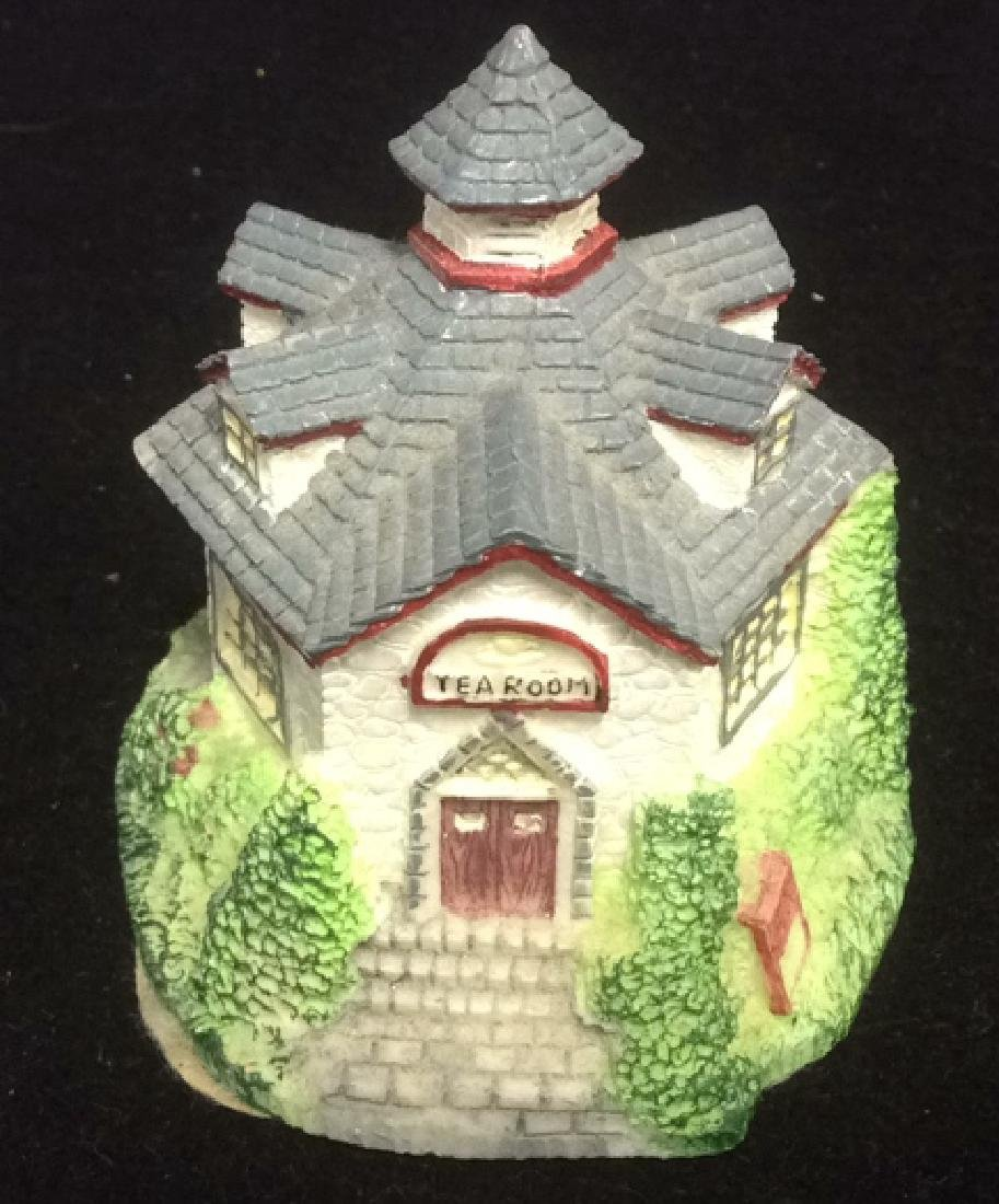 Group Miniature Houses Ceramic Collectibles Lot of 4 - 2