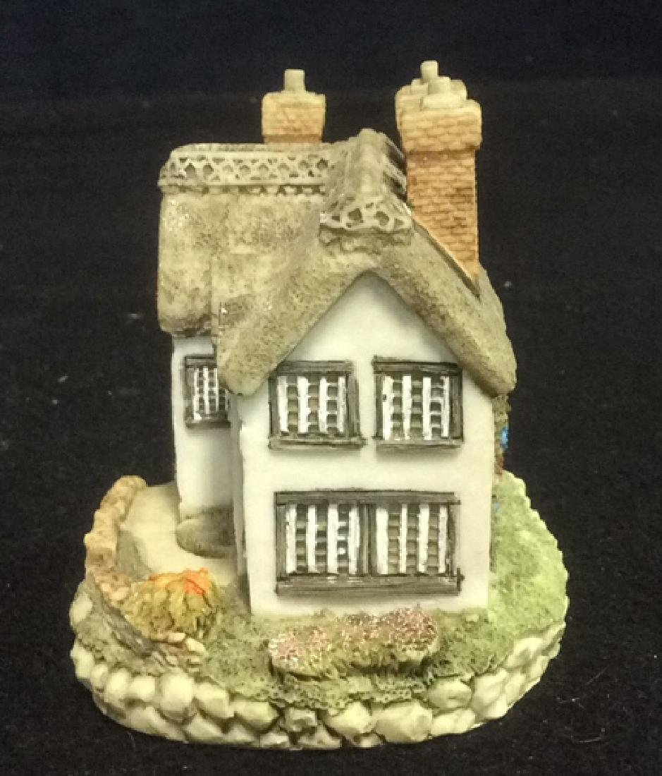 Group Miniature Houses Ceramic Collectibles Lot of 4 - 6