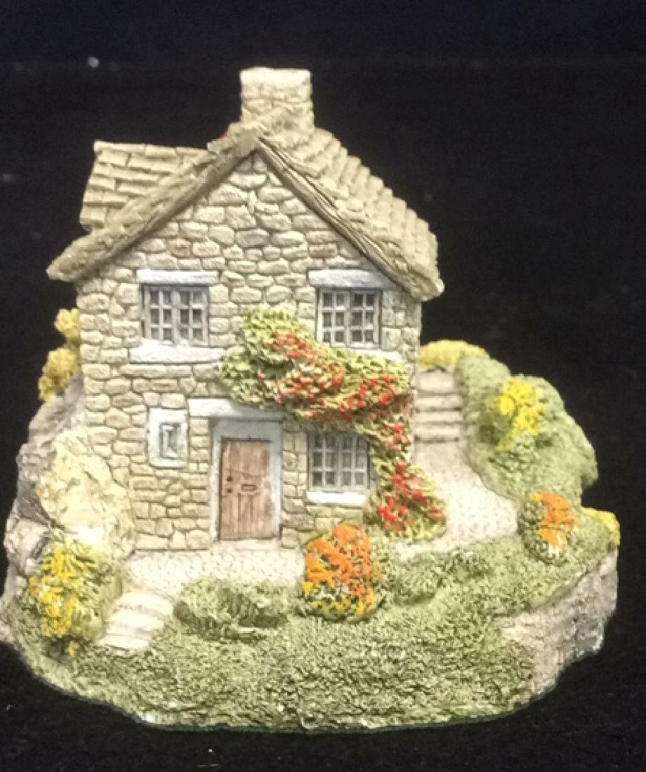 Group Miniature Houses Ceramic Collectibles Lot of 4 - 9