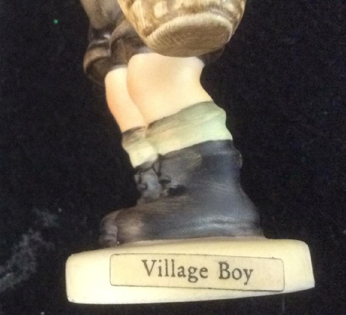 Hummel Village Boy with Basket Figurine Hummel Village - 4