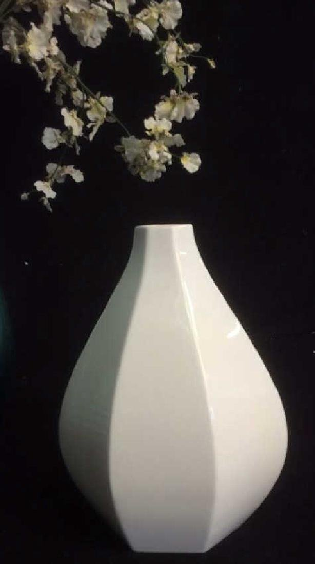 Group of Vases with Faux Flowers Lot of 3 vases with - 2