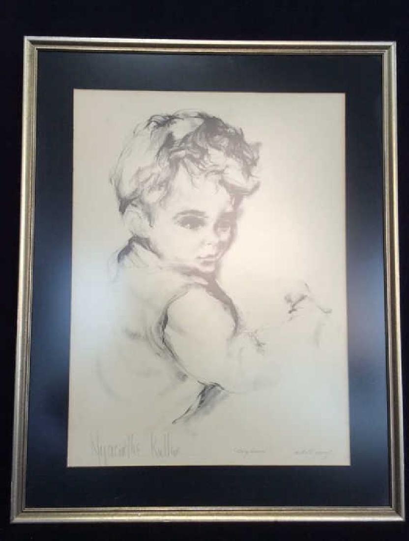 Hyacinthe Kuller AP Boyhood Artwork Artists Proof