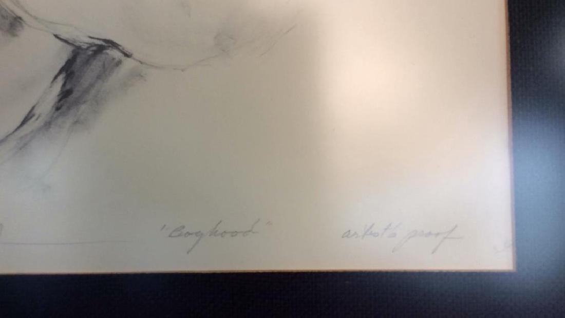 Hyacinthe Kuller AP Boyhood Artwork Artists Proof - 5