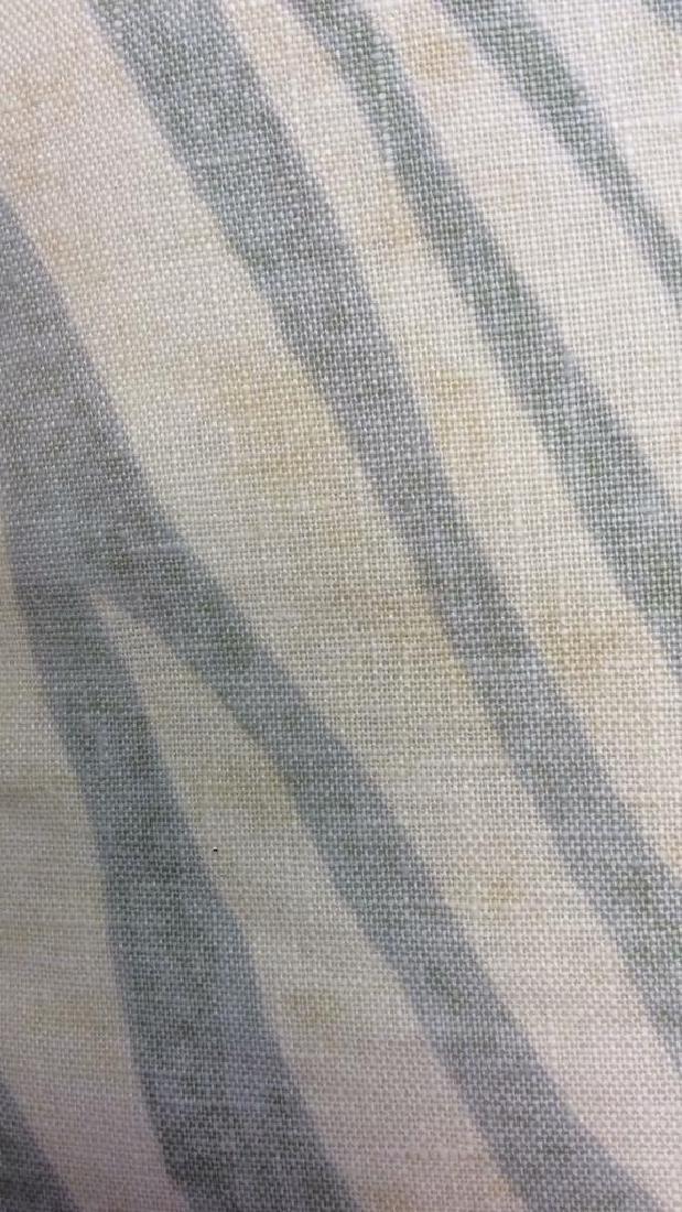 Pair light Turquoise Zebra Throw pillows Each measures - 5