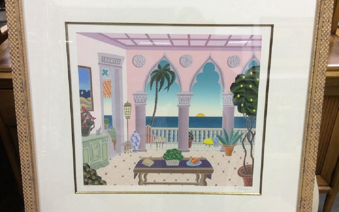 McKnight Litho Framed and Matted Signed and numbered