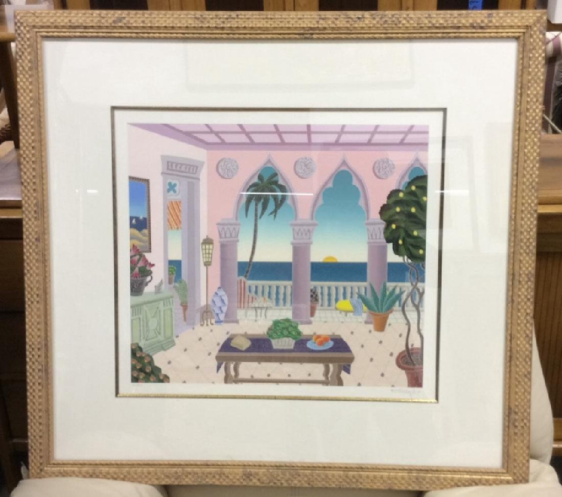 McKnight Litho Framed and Matted Signed and numbered - 4
