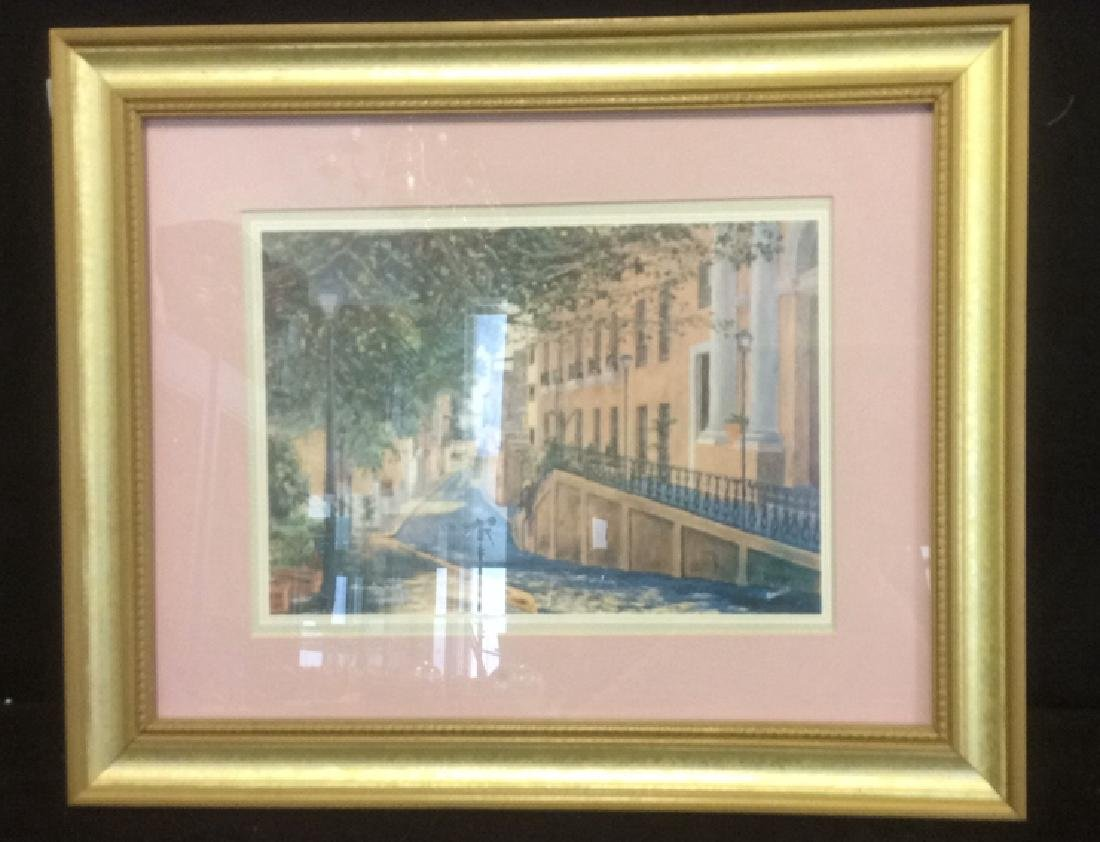 Group of 6  Framed Artwork Prints Six framed artwork, - 2