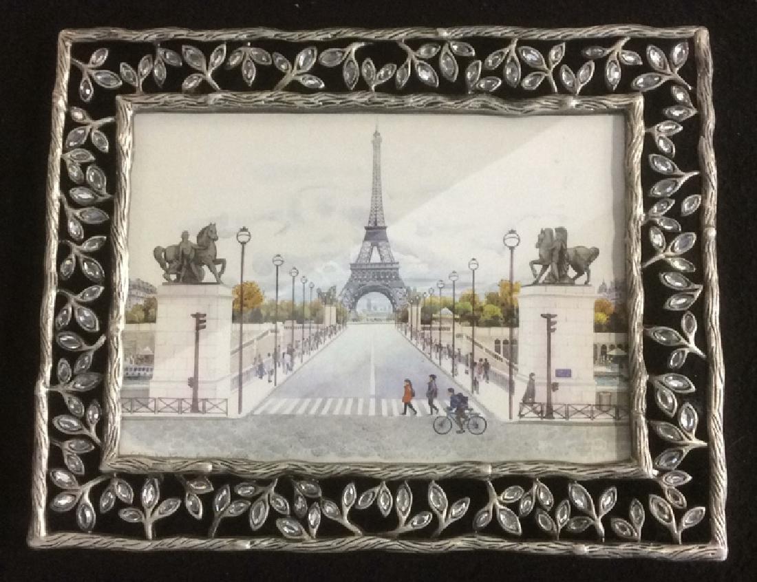 Group of 6  Framed Artwork Prints Six framed artwork, - 3