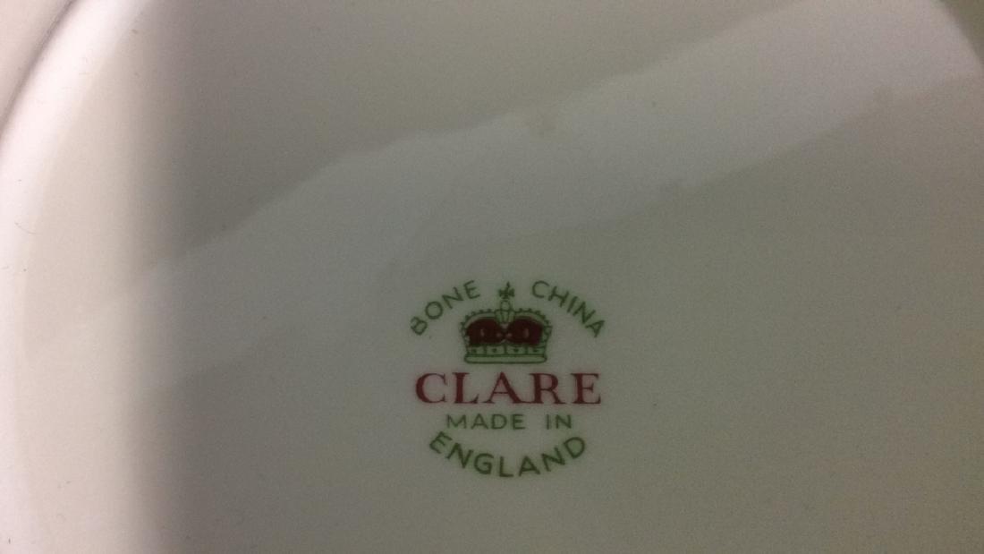 Group 20 Pieces Clare Bone China 20 pieces Clare Bone - 2