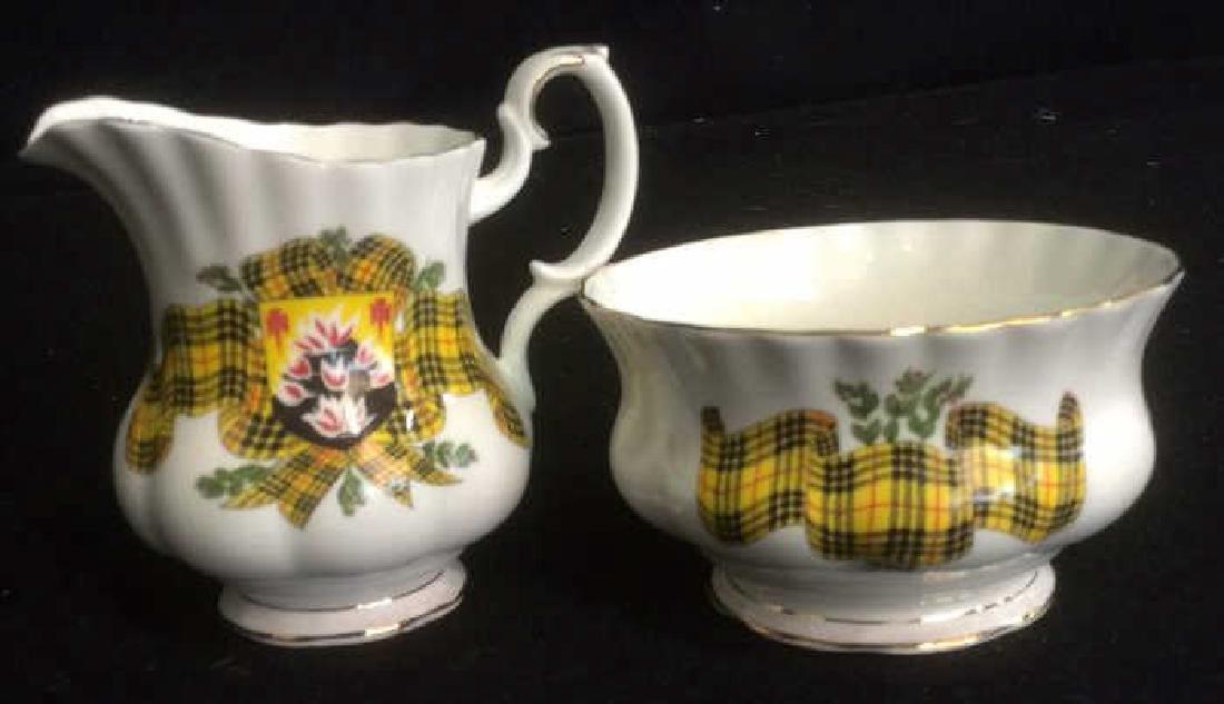 Group Scottish Theme Bone China Lot includes Handled - 3