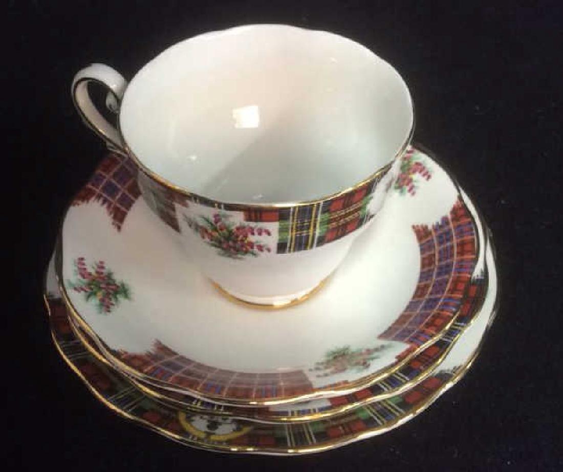 Group Scottish Theme Bone China Lot includes Handled - 6