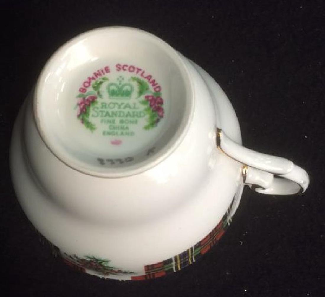Group Scottish Theme Bone China Lot includes Handled - 7
