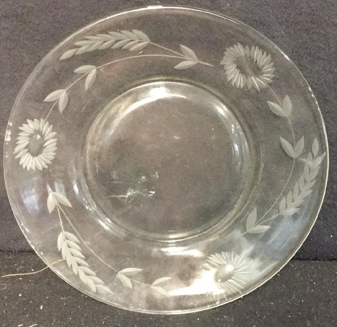 Group Lot Crystal And Glass Tabletops Assorted crystal - 5