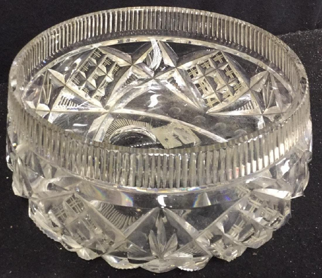 Group Lot Crystal And Glass Tabletops Assorted crystal - 6