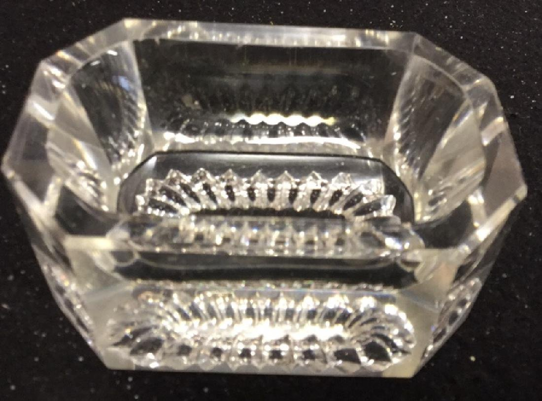 Group Lot Crystal And Glass Tabletops Assorted crystal - 7