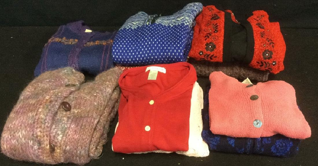 Ladies Assorted Sweaters 10 assorted ladies sweaters in