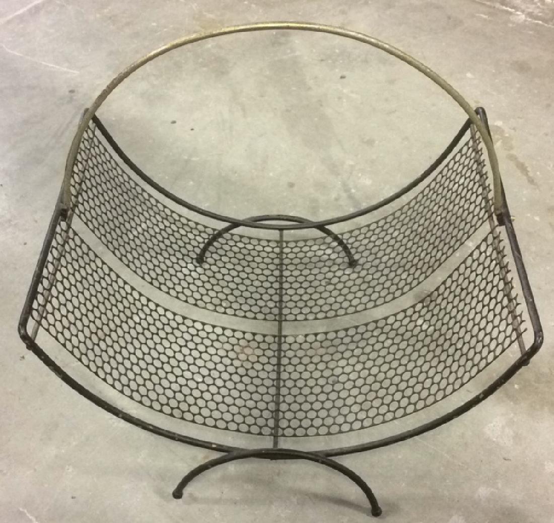 Group 4 Vintage Tables Racks Stands Metal Lot of 4 - 2