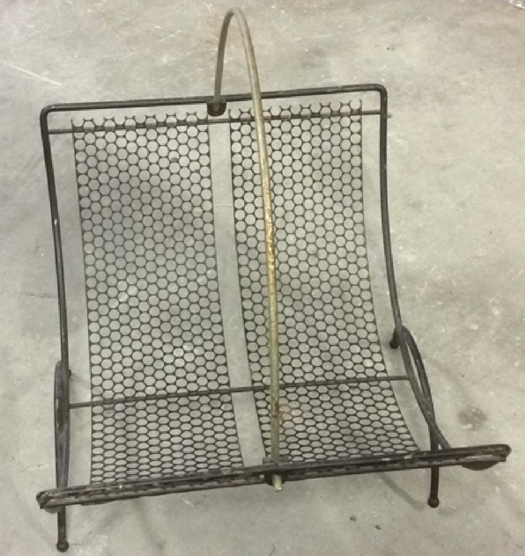 Group 4 Vintage Tables Racks Stands Metal Lot of 4 - 3