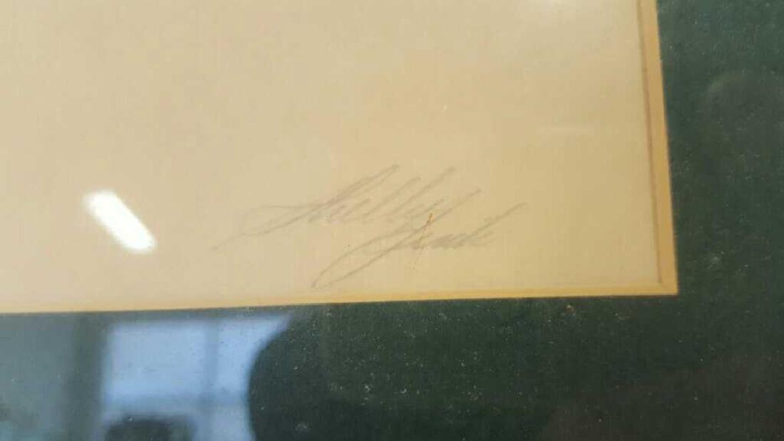 Young Musician Sketch Signed Kelly Clark Young Musician - 6