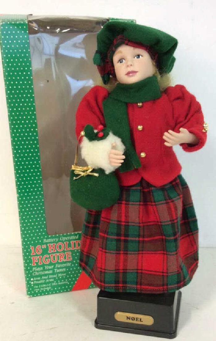 Collectible Priceline Costumed Singing Doll Singing