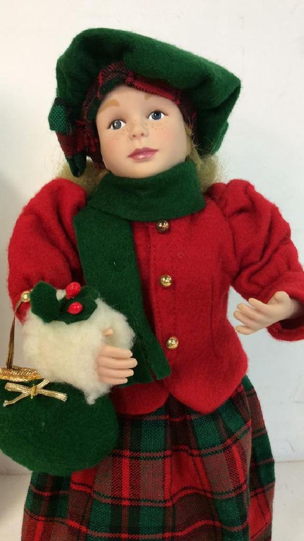 Collectible Priceline Costumed Singing Doll Singing - 4