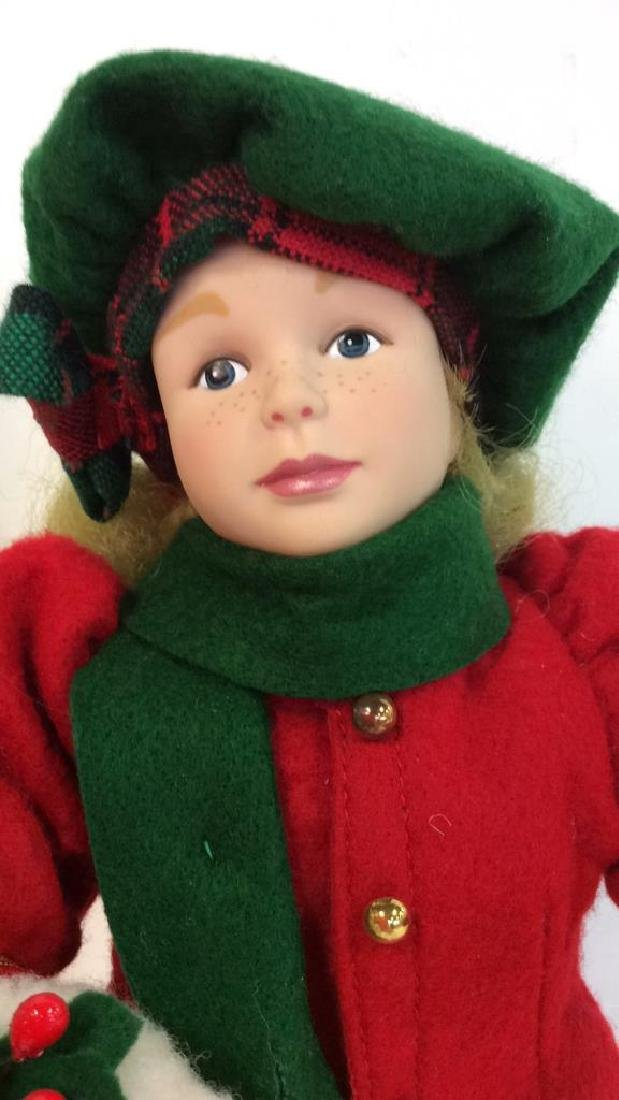 Collectible Priceline Costumed Singing Doll Singing - 5