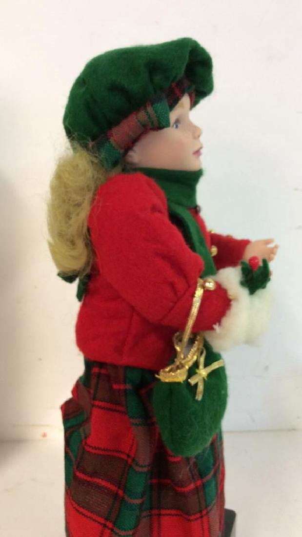 Collectible Priceline Costumed Singing Doll Singing - 6