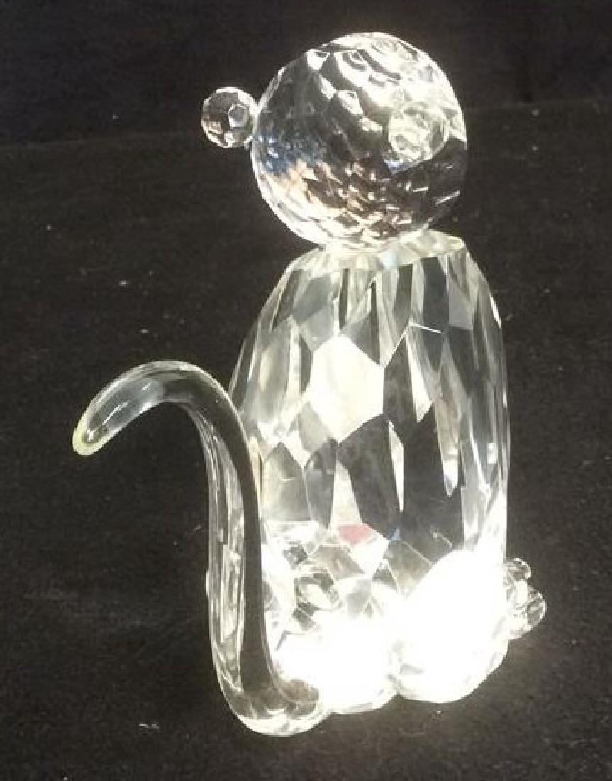 Crystal Faceted Monkey Figurine Wood Monkey Box Crystal - 7