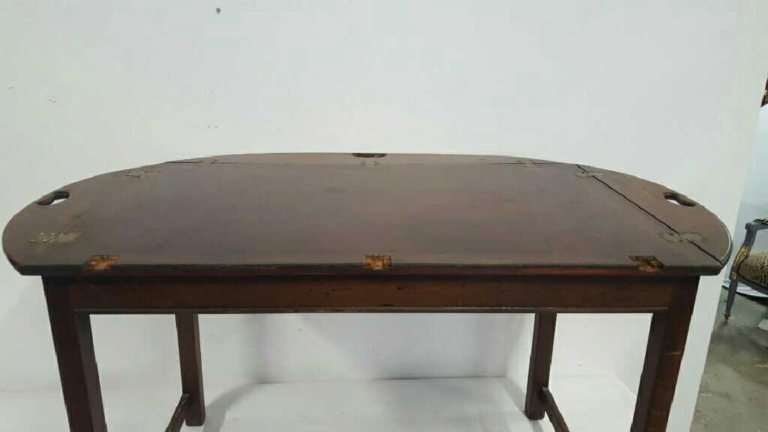 Vintage Butler Drop Leaf Table Vintage Butler Drop Leaf - 3