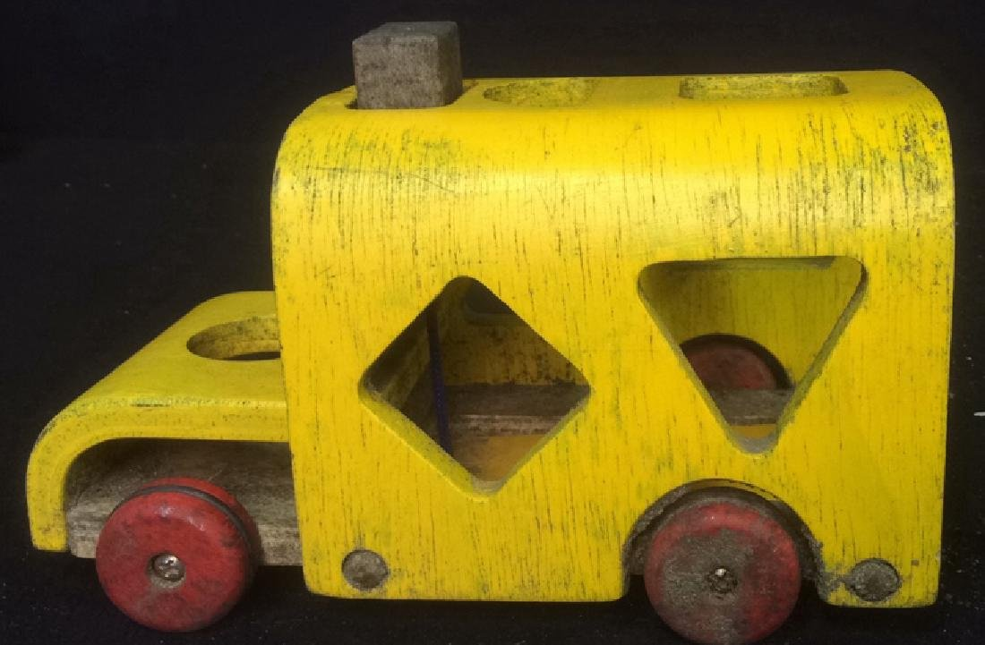 Vintage Collectible Toy Wood Car Collectible vintage