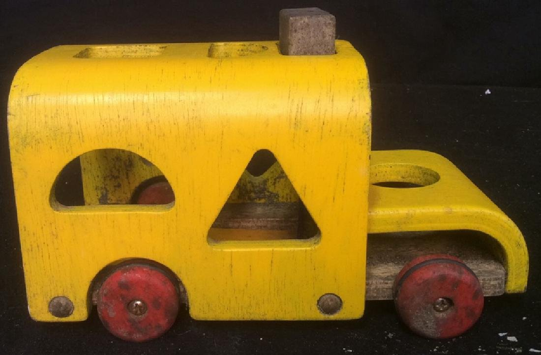 Vintage Collectible Toy Wood Car Collectible vintage - 3