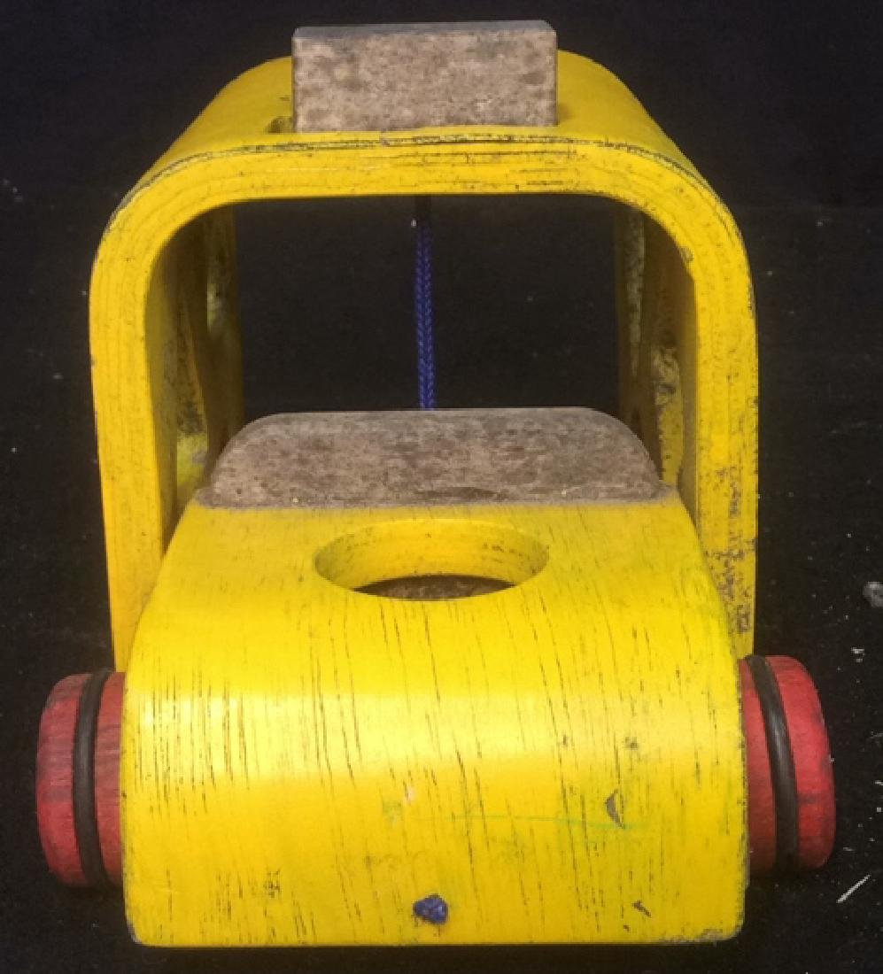 Vintage Collectible Toy Wood Car Collectible vintage - 4