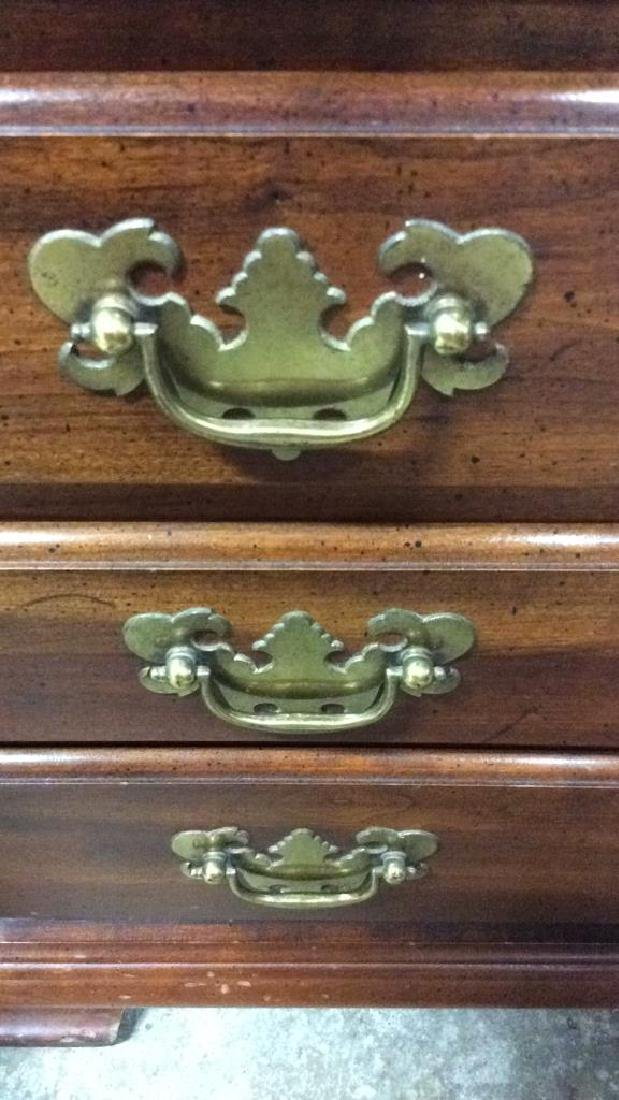 Pair Vintage Mahogany 4 Drawer chests Chests, end - 7