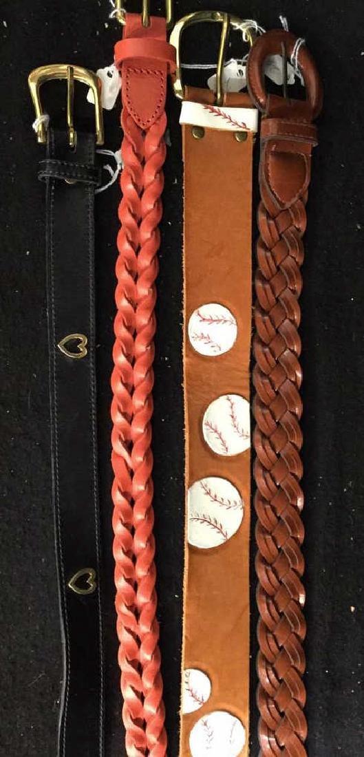 Group Lot Designer Ladies Belts Two dozen assorted - 2