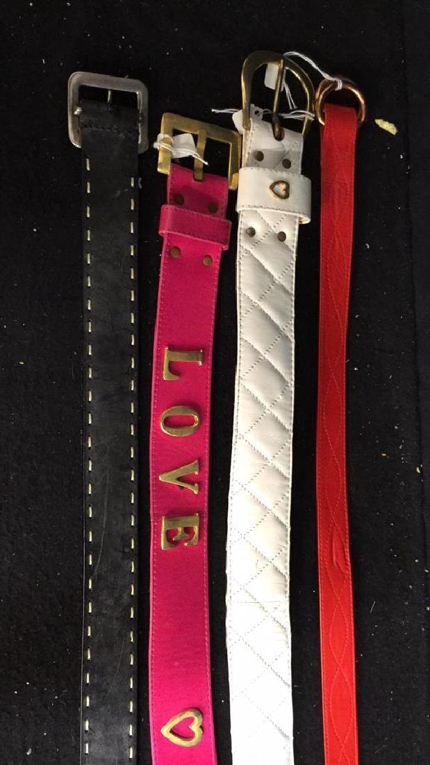 Group Lot Designer Ladies Belts Two dozen assorted - 3