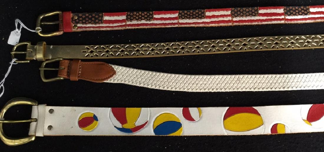 Group Lot Designer Ladies Belts Two dozen assorted - 5