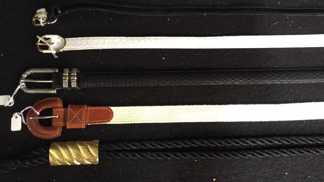 Group Lot Designer Ladies Belts Two dozen assorted - 7