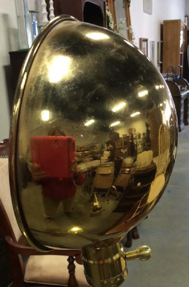 2 Vintage Floor Lamps, wood Brass Chrome Wood floor - 7